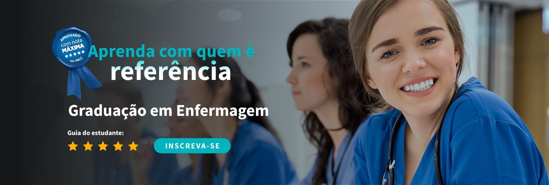 Curso de enfermagem com nota máxima no MEC