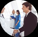 Visitas técnicas do curso de gestão hospitalar